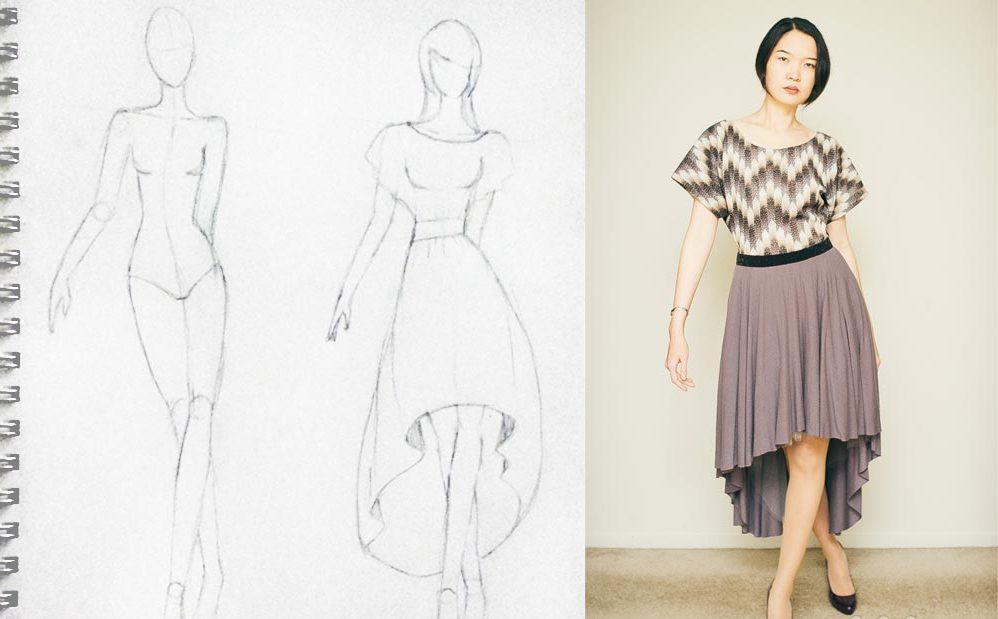 6b11cdc0b40 Как сшить красивое платье  простые и стильные варианты