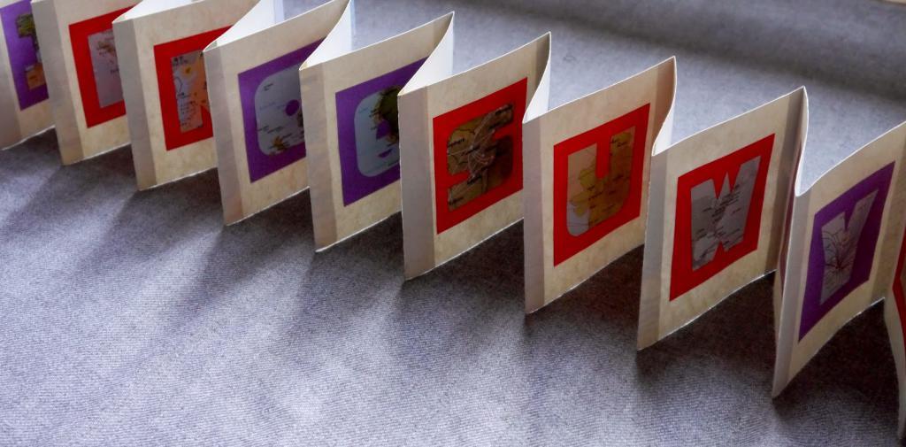 гармошка из фотографий микросхем, печатных