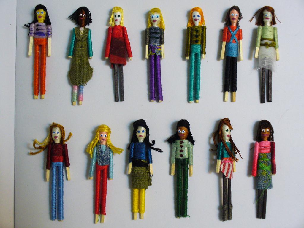 куклы из ниток для девочек