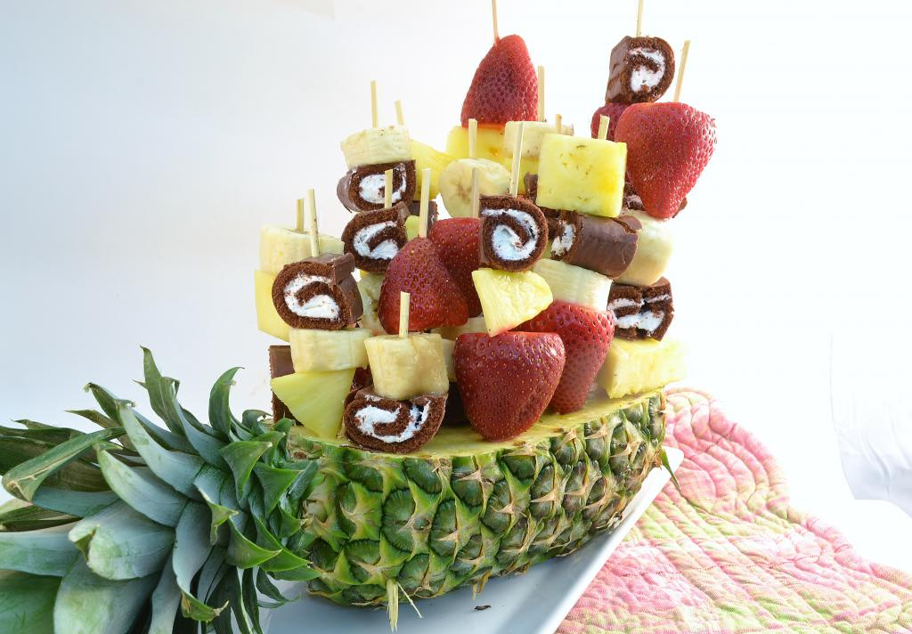 Кораблик в ананасе