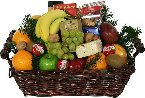Как оформить фруктовую корзинку
