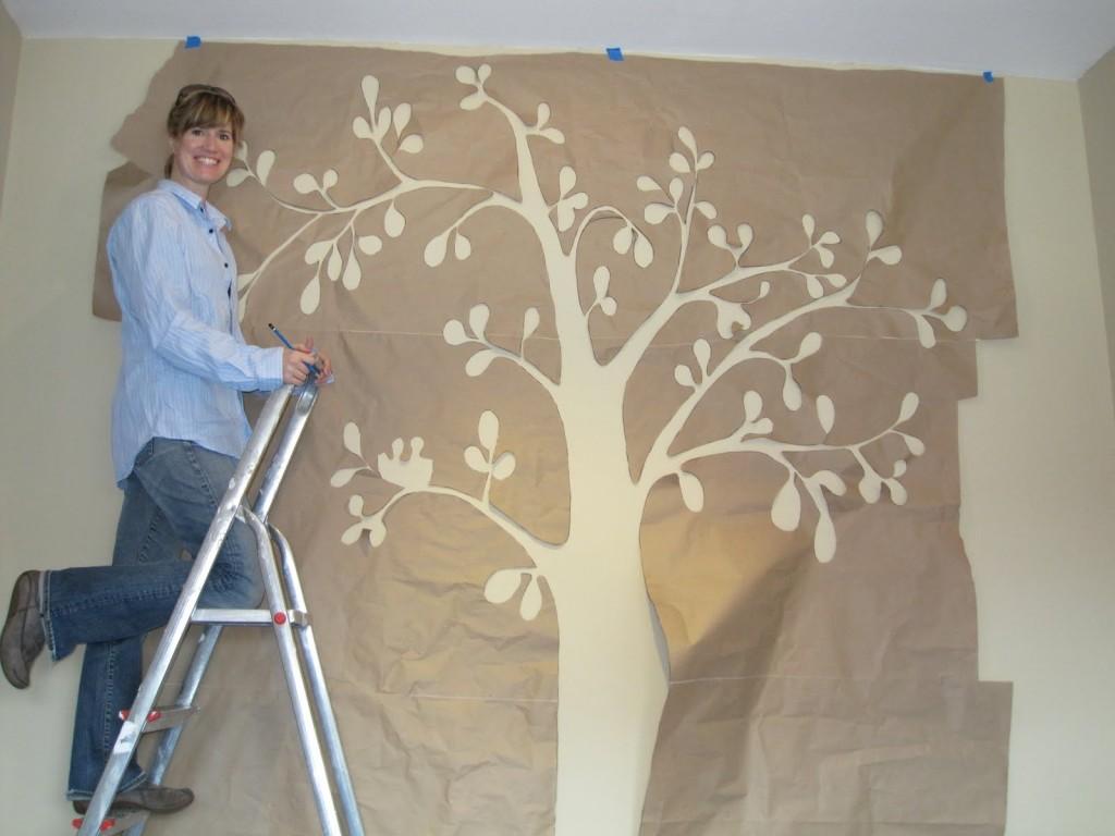 Рисуем высокое дерево
