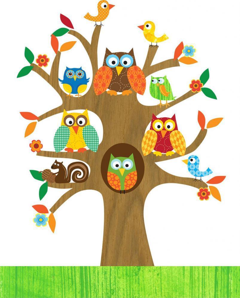 Дерево в детскую
