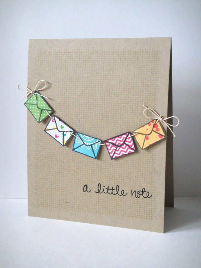 Стихи, милые открытки из картона