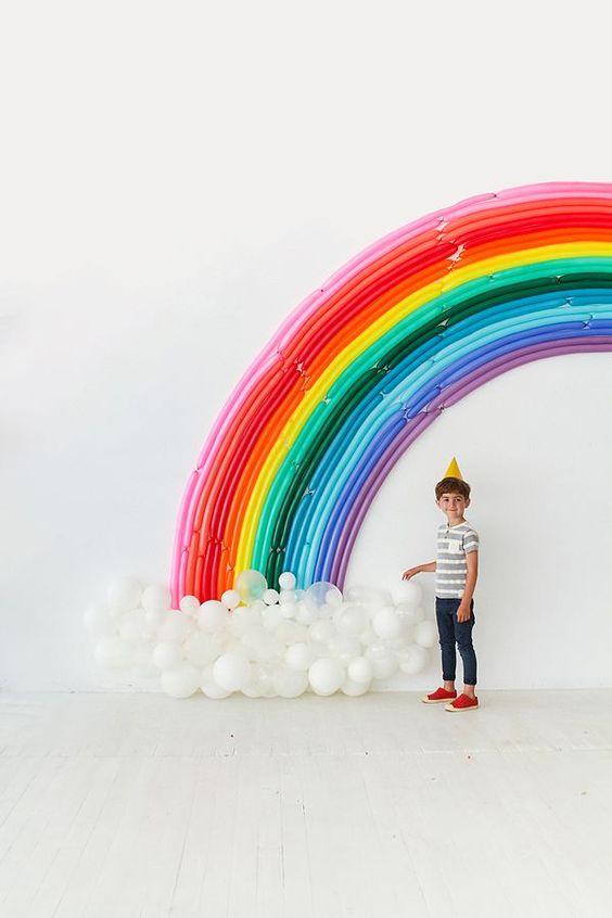 украсить комнату на день рождения фото