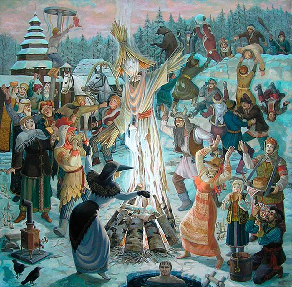 традиции празднования масленицы на руси