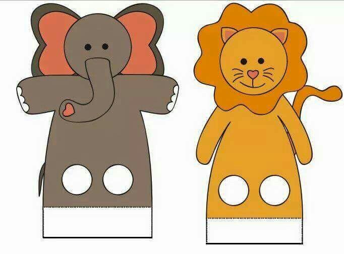 пальчиковые куклы картинки шаблоны семейства