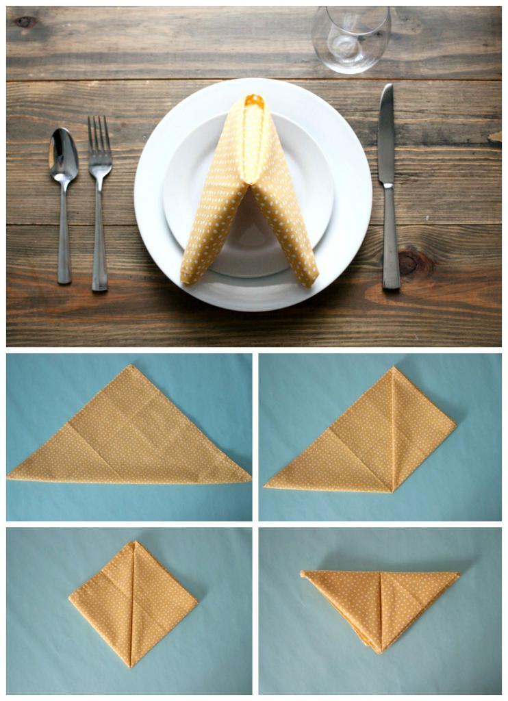 Треугольник салфетка