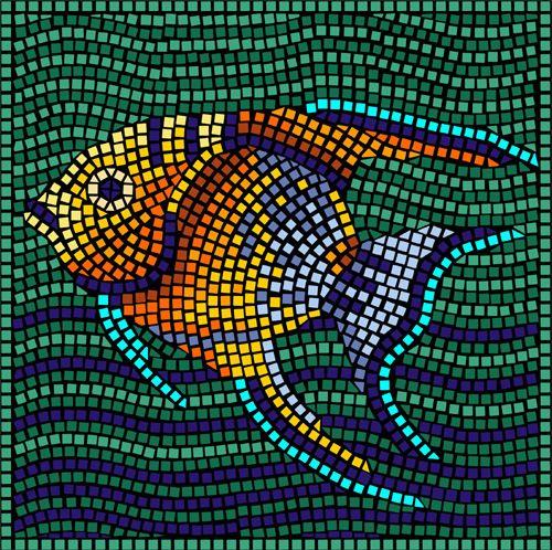 """мозаика """"Рыбка"""""""