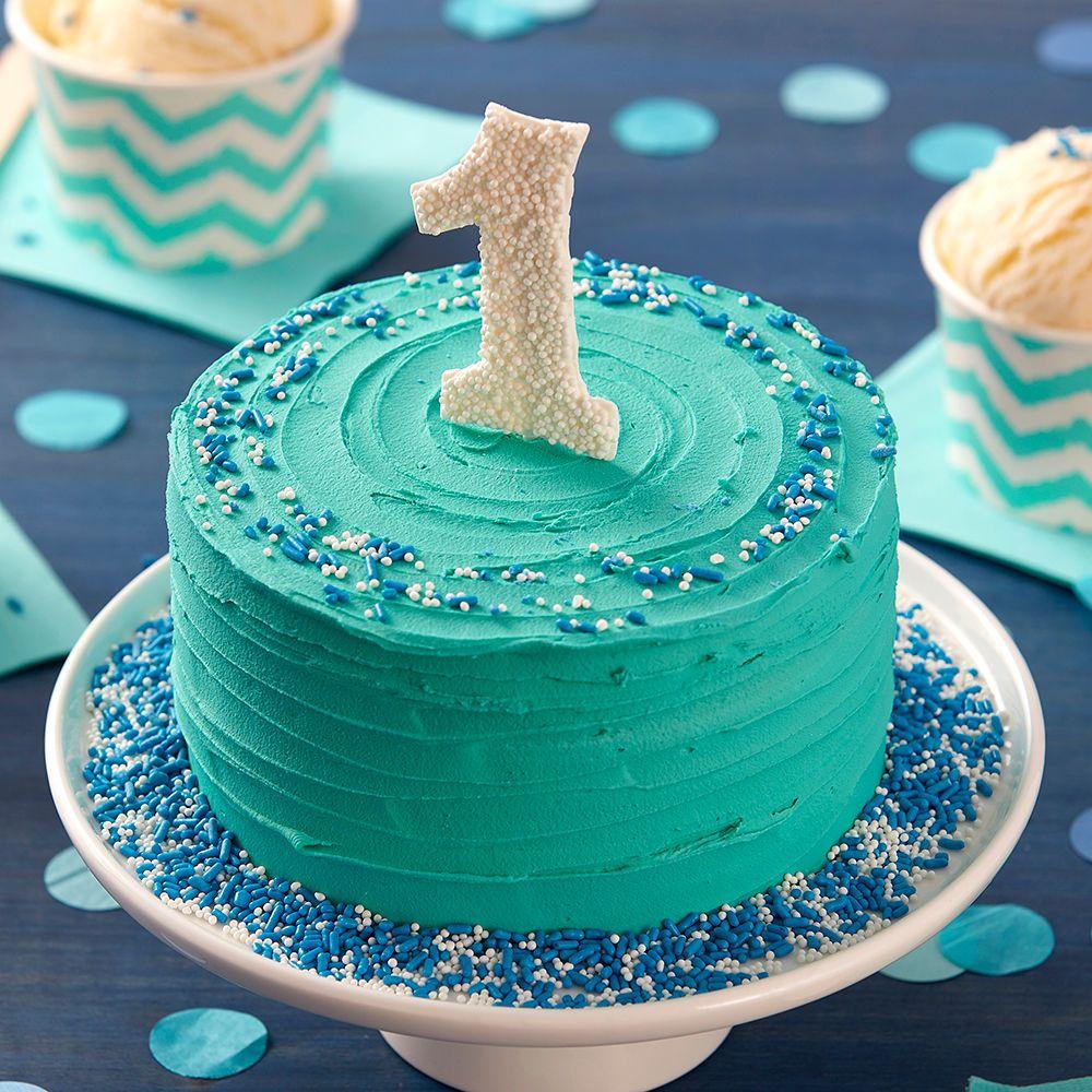 торт с цифрой