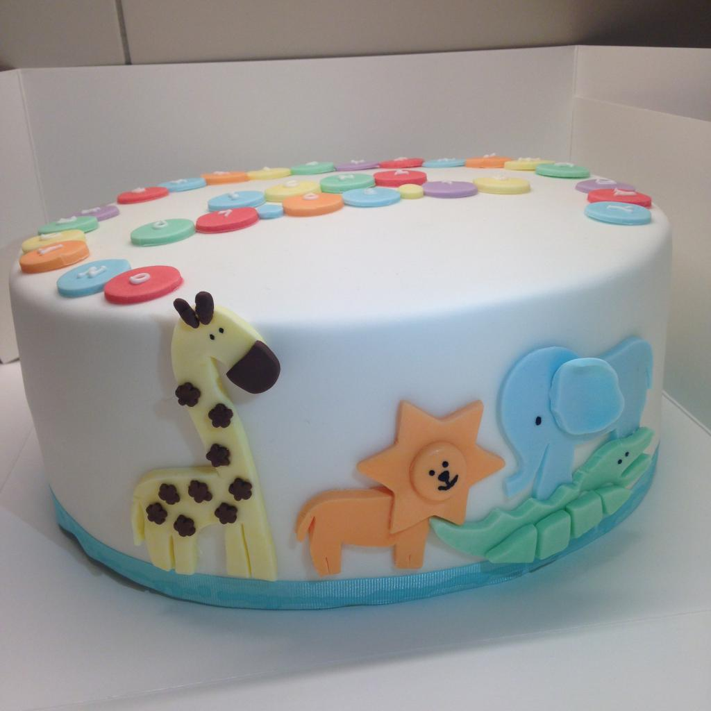 животные на торте