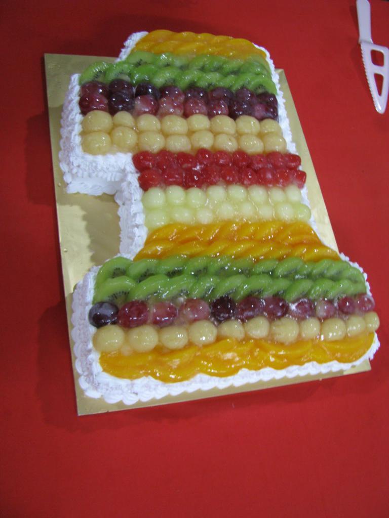 фруктовый торт