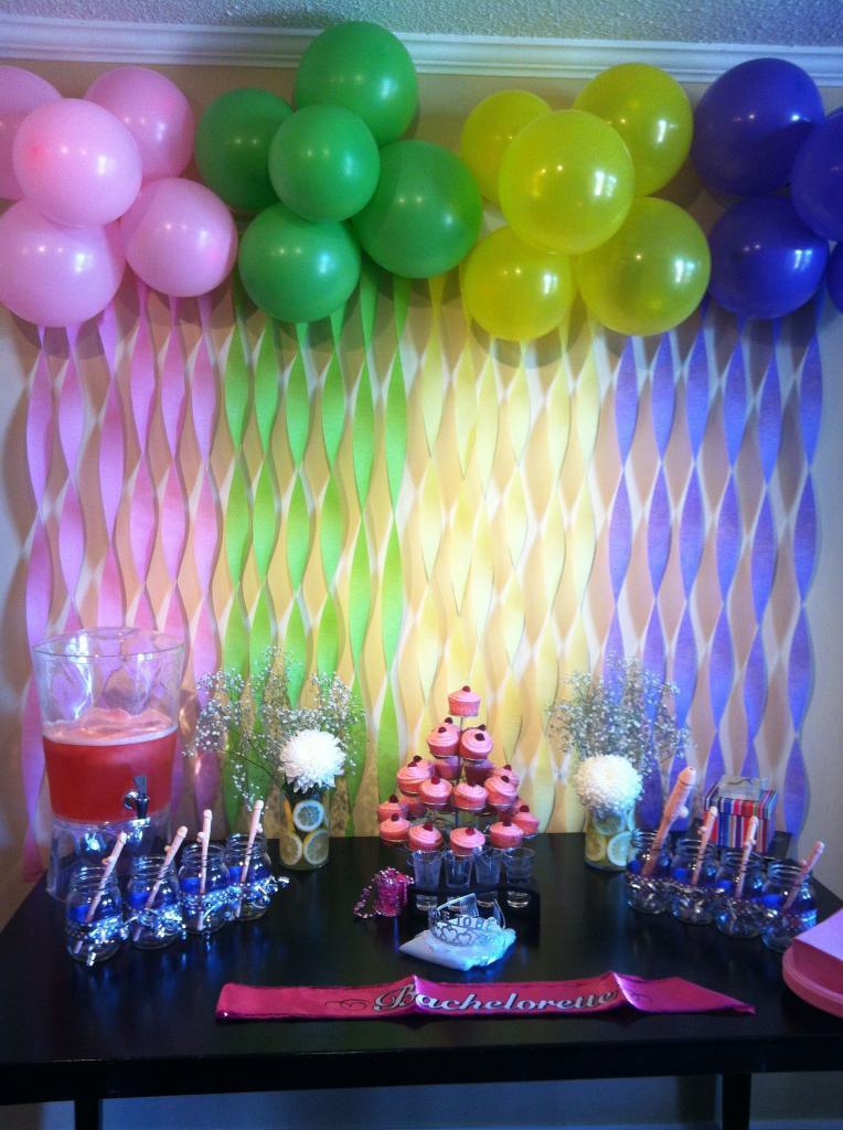 Фотозона для дня рождения