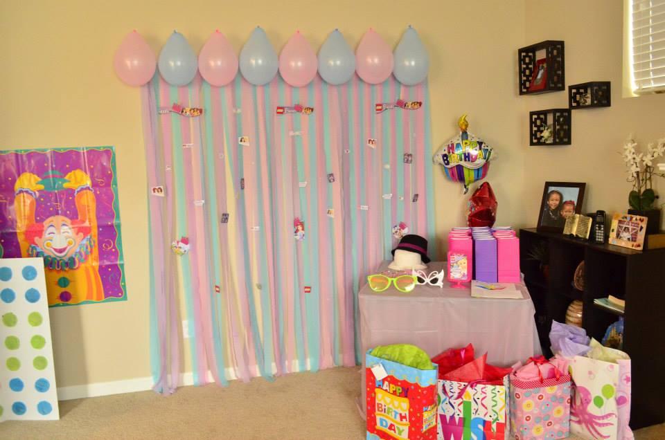 Шары и ленты на день рождения