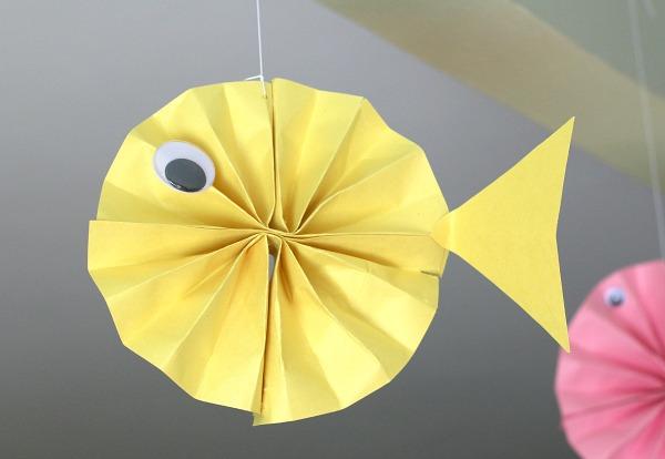 объемная рыбка