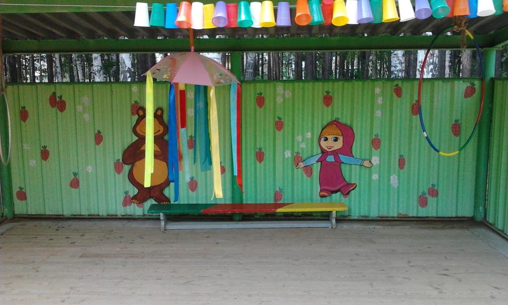 Маша и Медведь в детском саду.