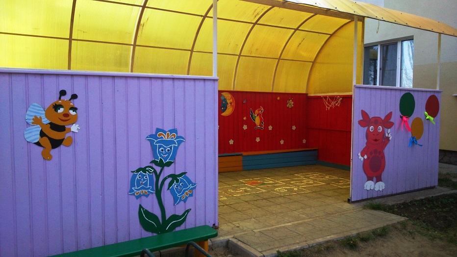 Веранды в детском саду картинки и иллюстрации