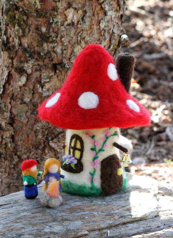 грибы из шерсти