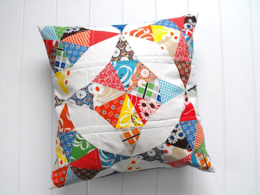 Подушка - мозаика
