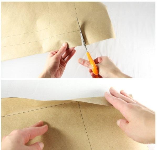Процесс вырезания обложки