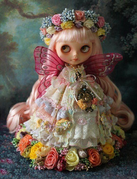 поделка королева осени из куклы