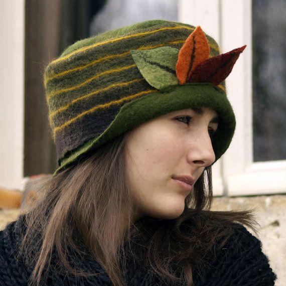 Зеленая шляпка