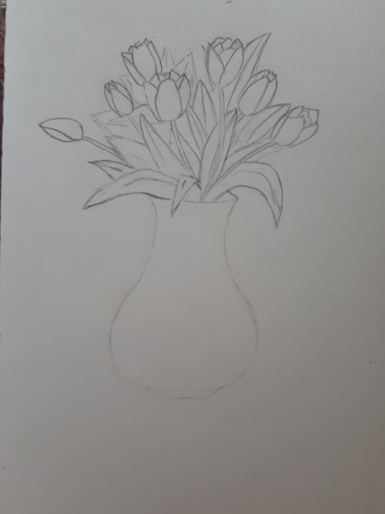 мейерхольд прекратил рисунки карандашом тюльпаны в вазе нечаянно поставлен