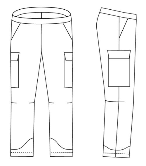 выкройка брюк женских на резинке