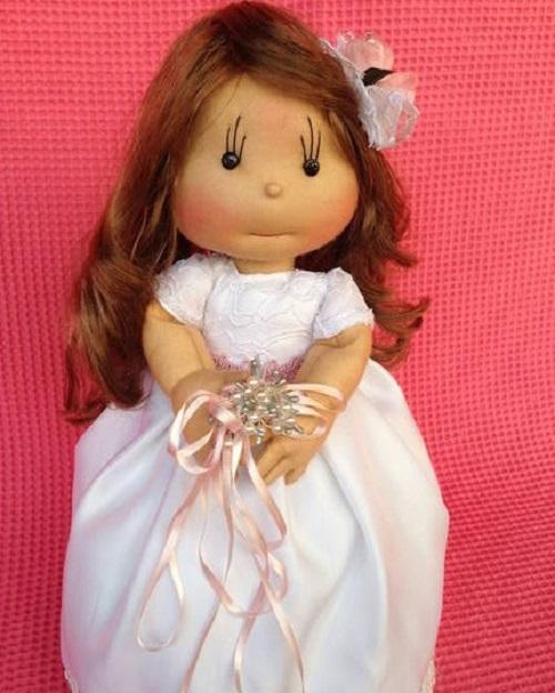 куклы своими руками из капрона