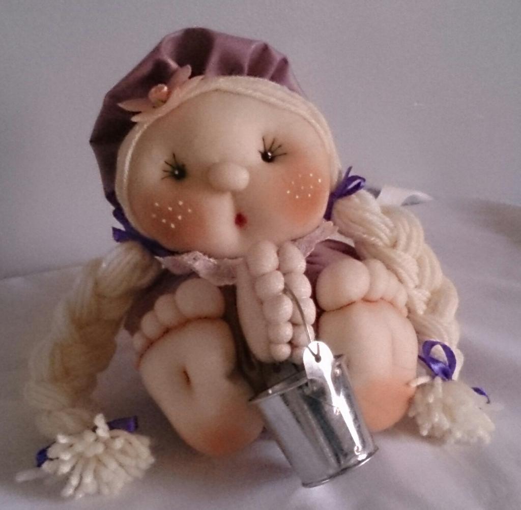 куклы из капроновых колготок мастер класс