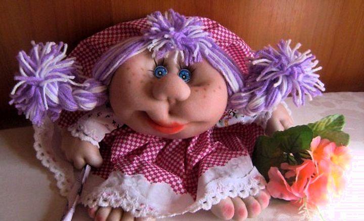 куклы из капроновых чулок