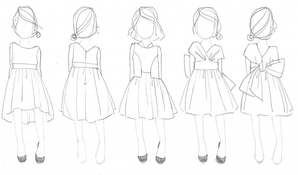Вариант бального платья